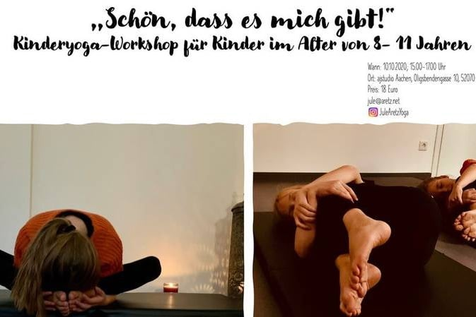 Ankündigung: Kinderyoga Workshop im Oktober